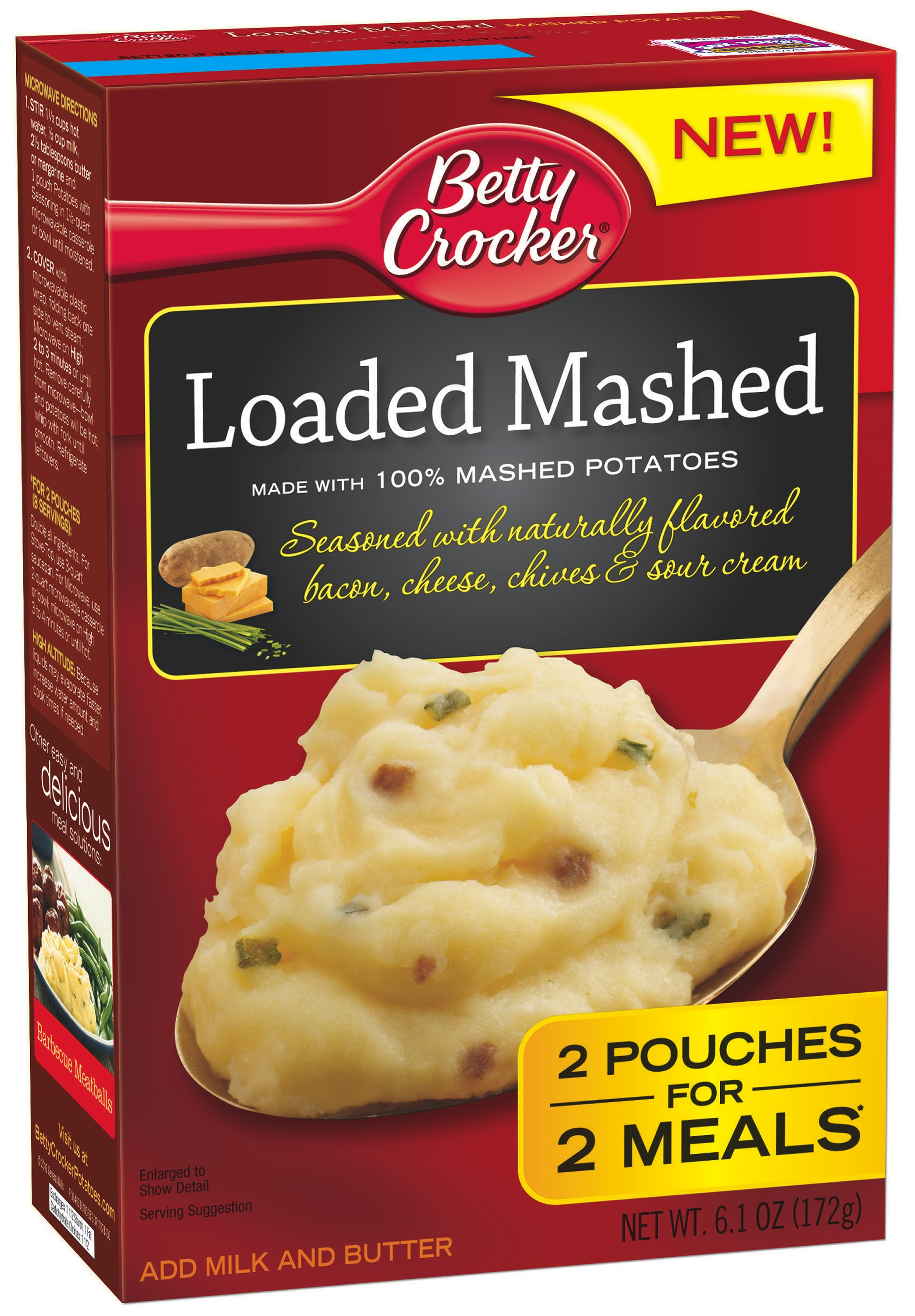 betty crocker loaded mashed potatoes review prize pack giveaway