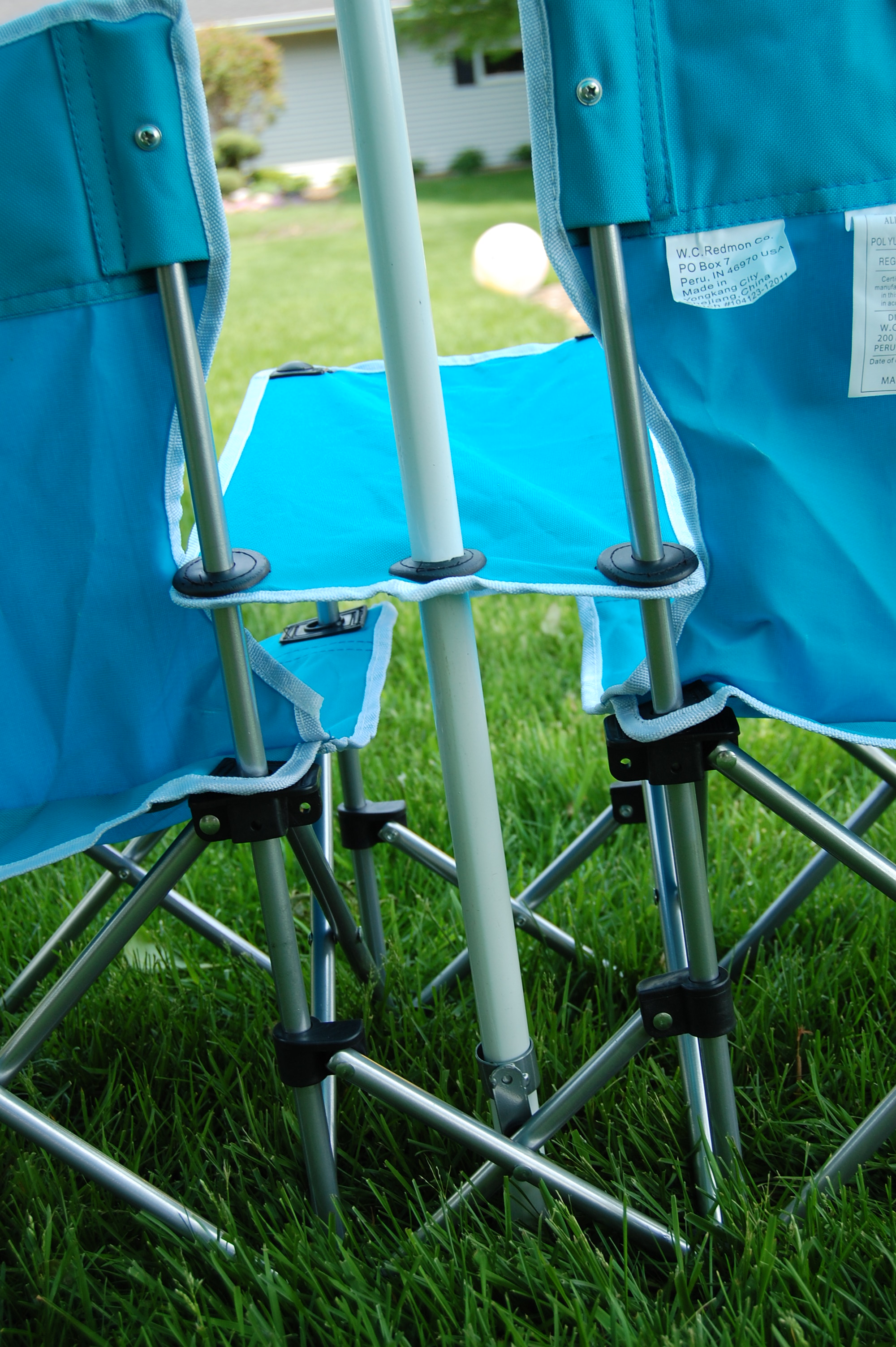 e Step Ahead Double Folding Chair Review & Giveaway