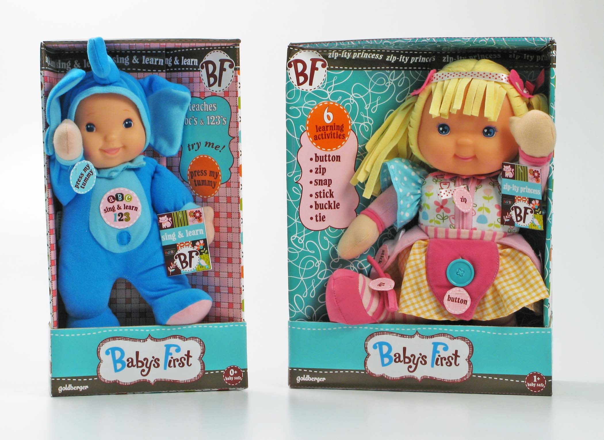 Baby S First Sing Amp Learn Abcs Amp 123s Doll Review Amp Giveaway