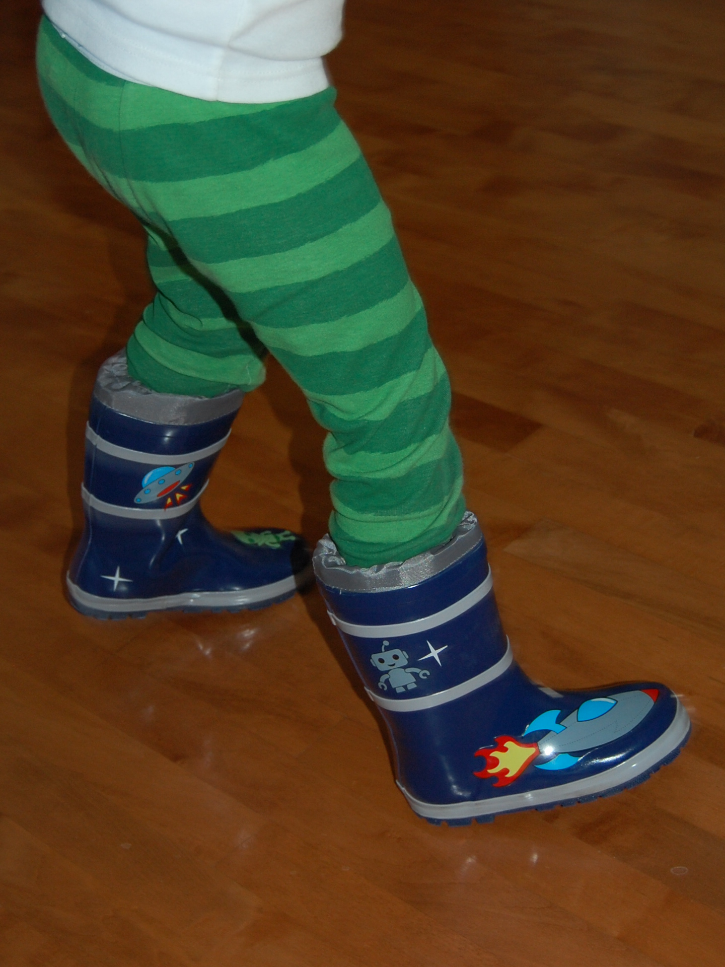 Jumping for Joy with Kidorable Rain Boots! | The Children's Nook